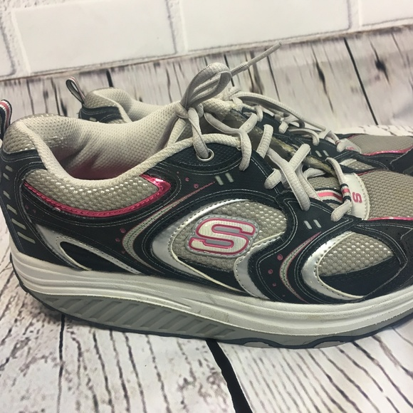 f202a24ca3fbf Skechers Shoes | Sketchers Shape Ups Womens Tennis Size 10 | Poshmark